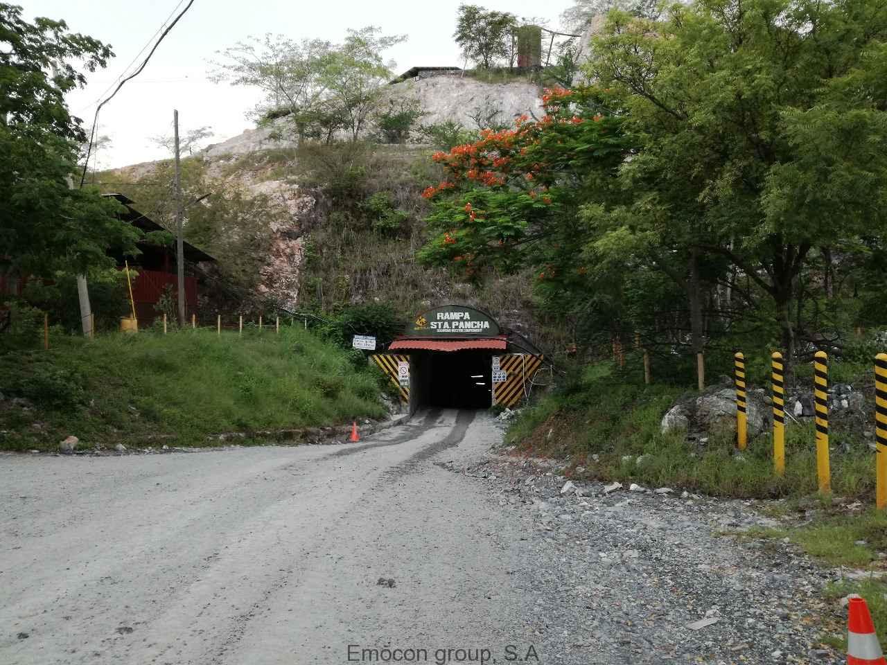 Proyecto Mina UG Santa Pancha, Nicaragua.
